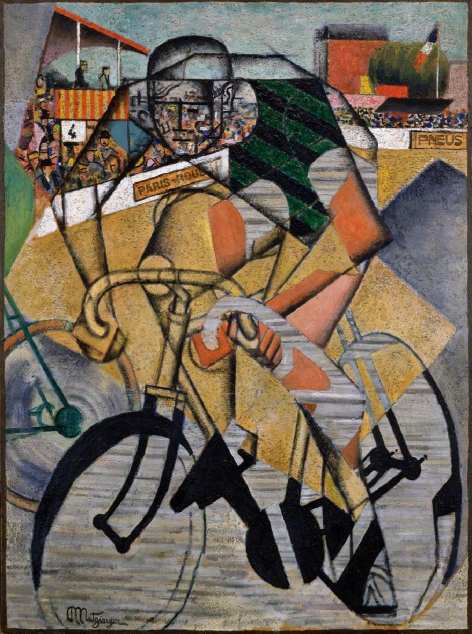 Коллаж. Жан Метцингер. Велодром, 1912