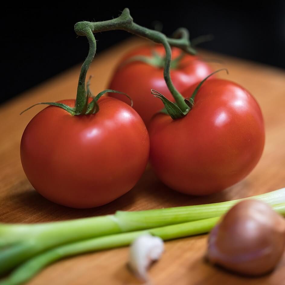 Франк Шуленбург. Фотография «Помидоры для салата»