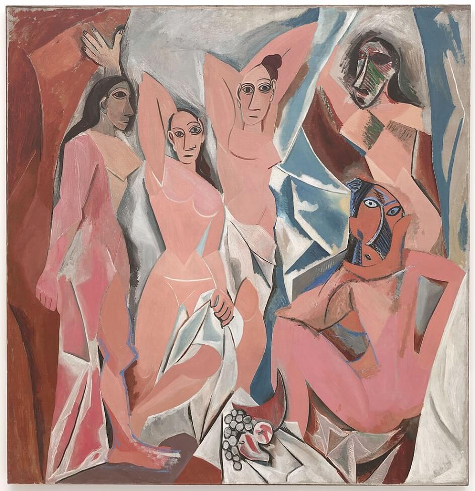 Формализм. Пабло Пикассо. Картина Авиньонские девицы, 1907
