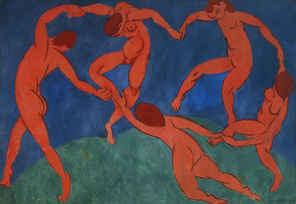 Формализм. Анри Матисс. Танец, 1910