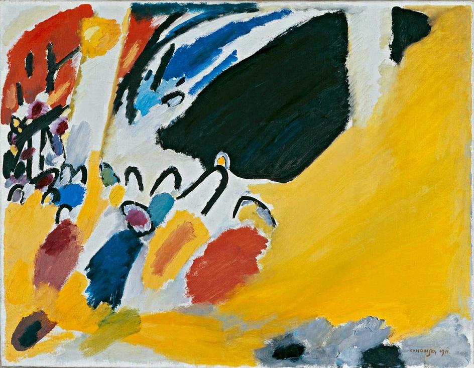 """Абстракционизм в живописи. Василий Кандинский. """"Импрессия III"""" (""""Концерт"""")"""