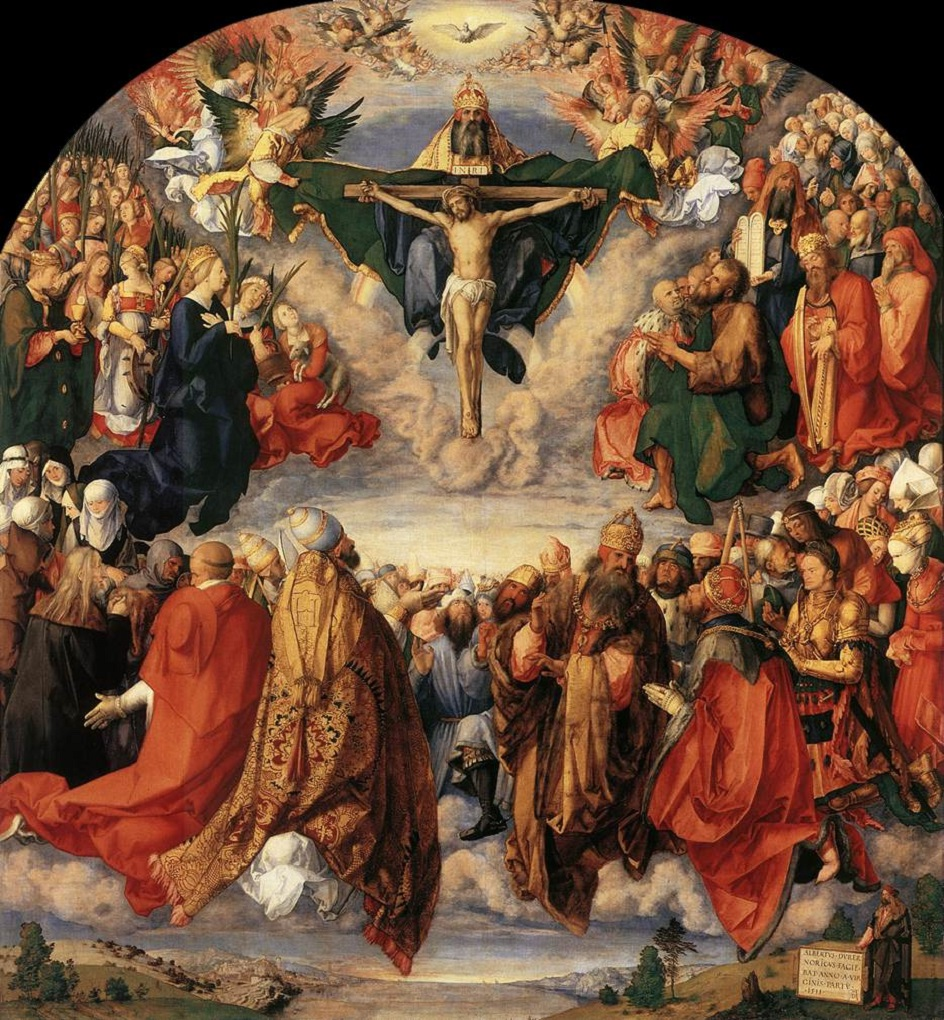 Альбрехт Дюрер. Поклонение Святой Троице