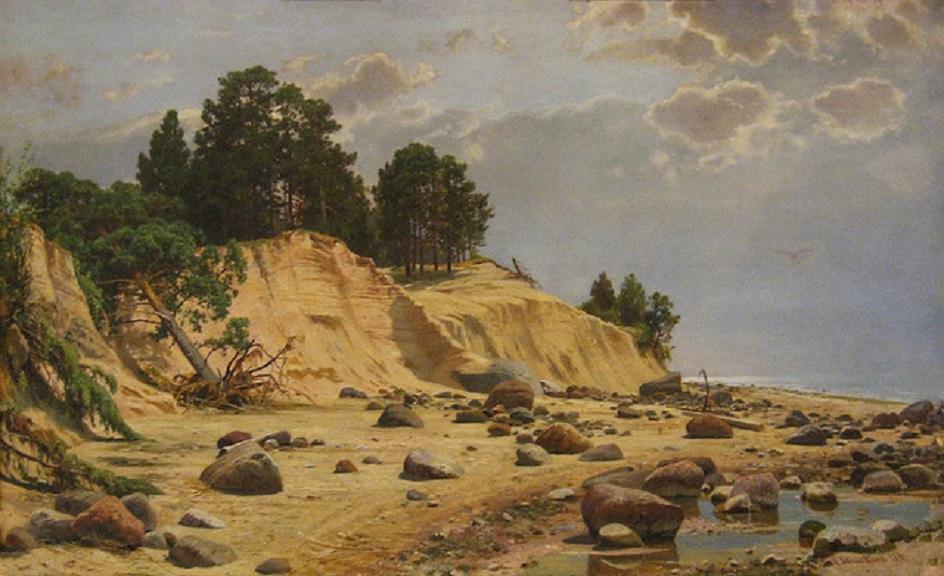 """Иван Шишкин. """"После шторма"""", 1891"""