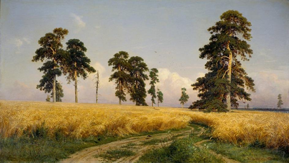 """Иван Шишкин. """"Рожь"""", 1878"""