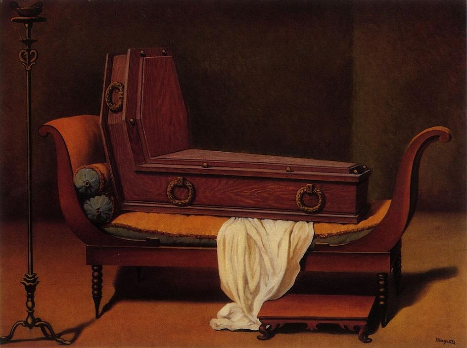 Реализм. Рене Магритт. Перспектива мадам Рекамье