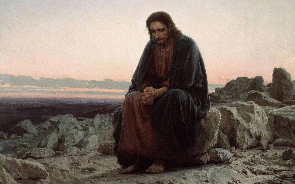 """Передвижники. Иван Крамской. """"Христос в пустыне"""""""