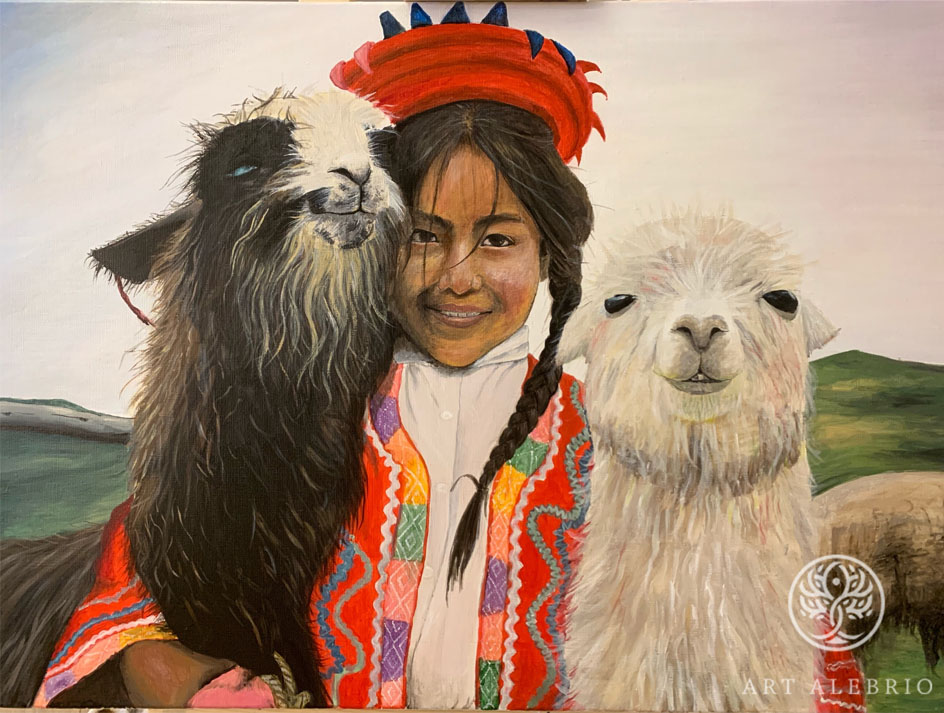 Живопись. Наталья Калалб. Peru, 2020