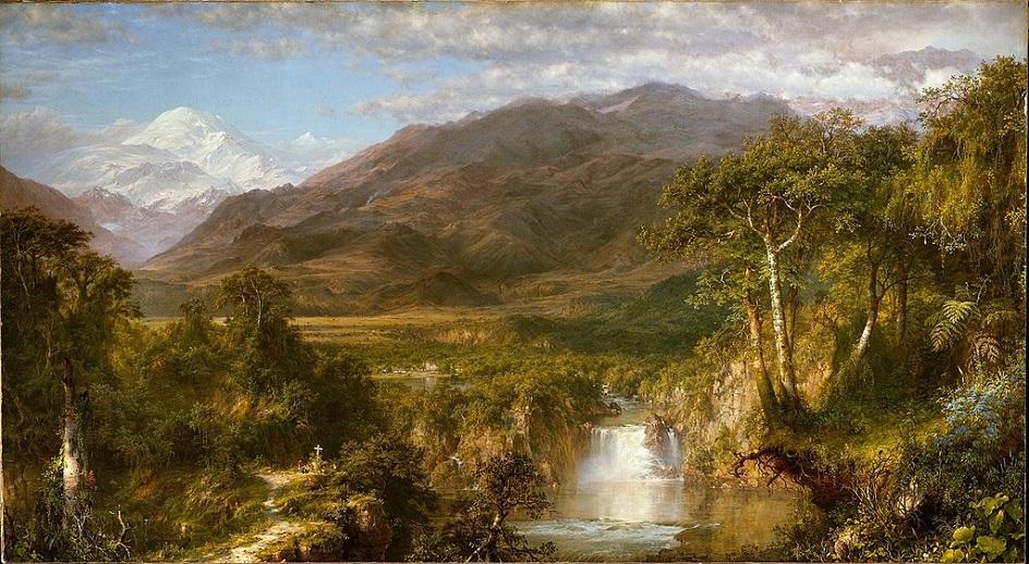 Пленэр. Фредерик Эдвин Черч. Сердце Анд. 1859
