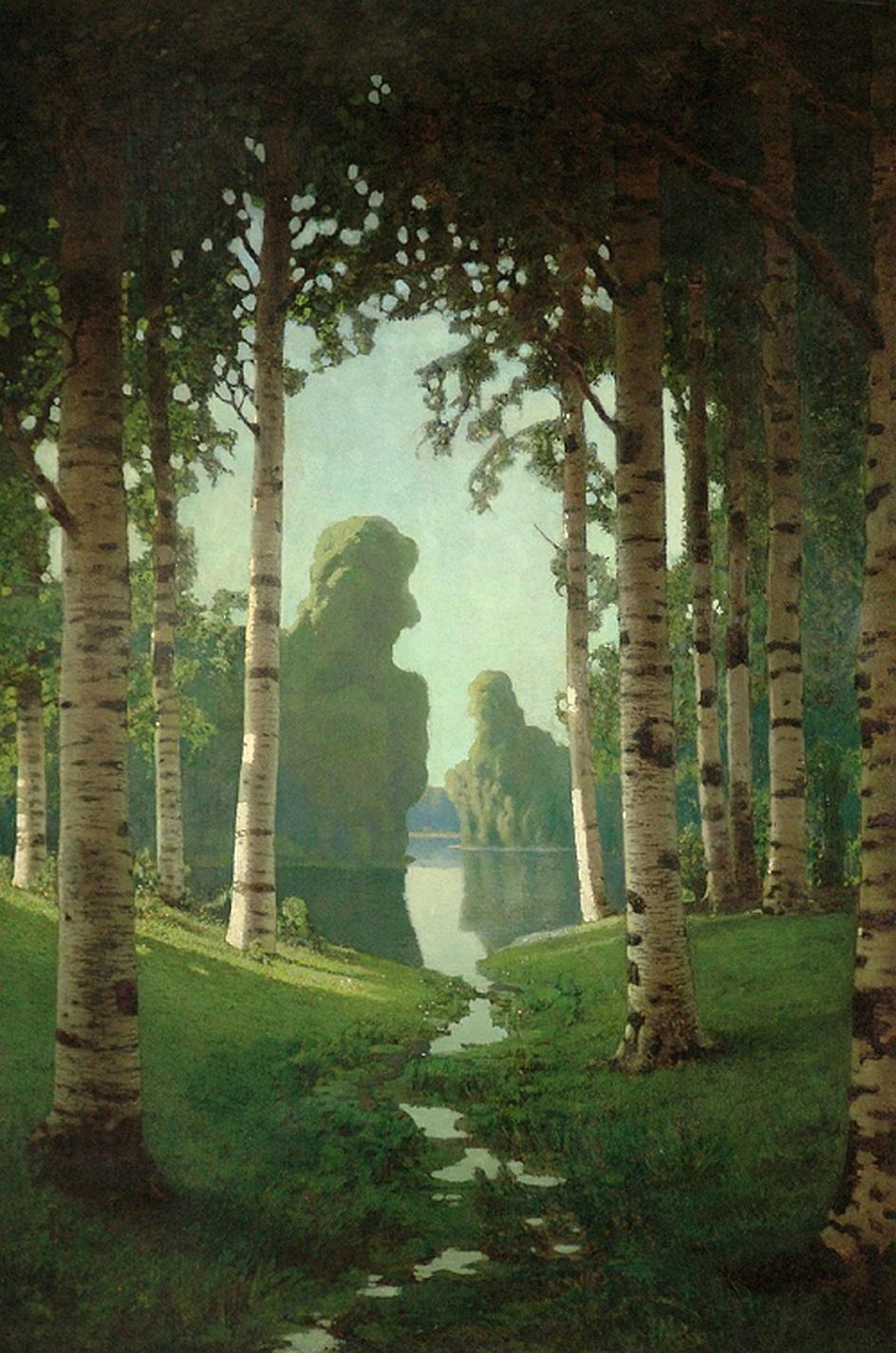 """Архип Куинджи. """"Березовая роща"""", 1879"""