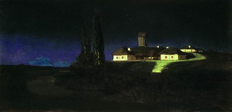 """Архип Куинджи. """"Украинская ночь"""", 1876"""