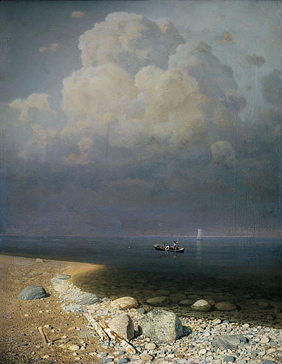 Архип Куинджи. Ладожское озеро, 1872