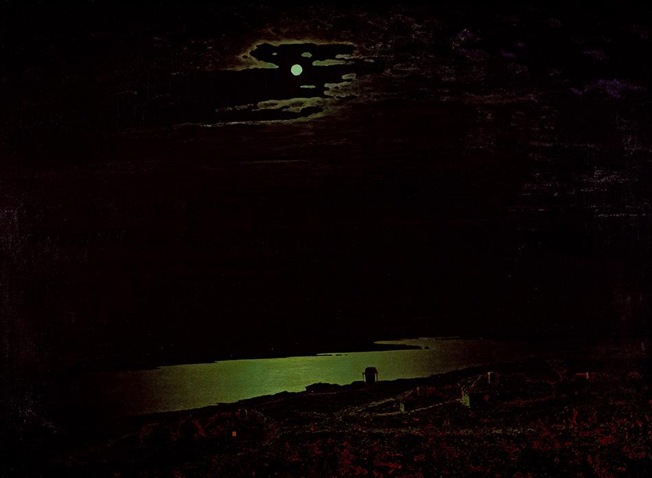 Архип Куинджи. Лунная ночь на Днепре, 1880