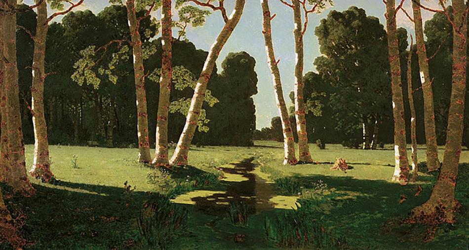Архип Куинджи. Березовая роща, 1879