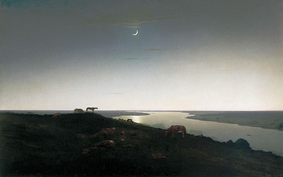 """Архип Куинджи. """"Ночное"""", 1908"""