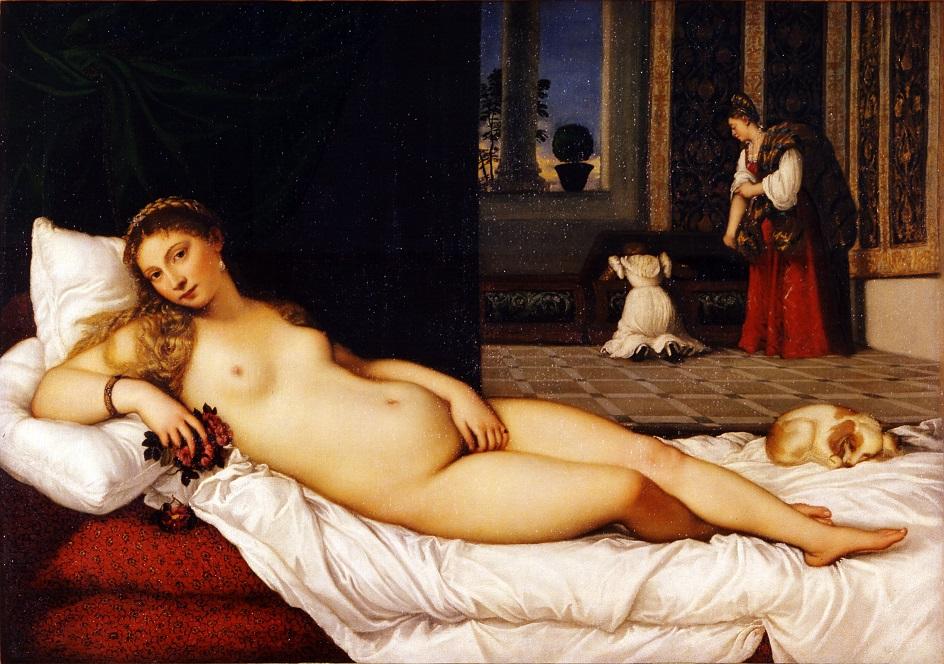 Классика жанра ню. Тициан. «Венера Урбинская»