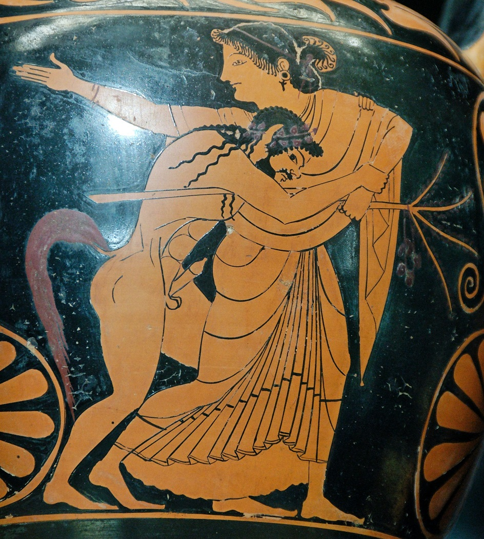 Ню. Древняя Греция. «Менада и сатир»