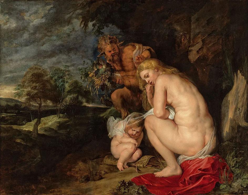 Картина ню. Пауль Питер Рубенс. «Замерзшая Венера»)