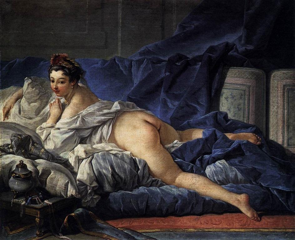 Стиль ню. Франсуа Буше. «Отдыхающая девушка» (1)