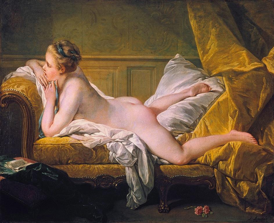 Стиль ню. Франсуа Буше. «Отдыхающая девушка» (2)
