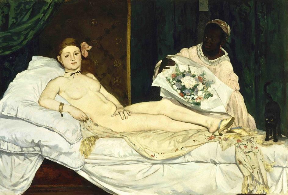 Знаменитая картина ню. Клод Моне. «Олимпия»