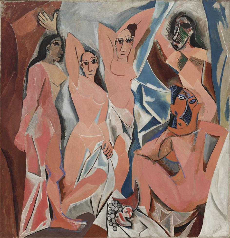 Авангардное ню. Пабло Пикассо. «Авиньонские девицы»