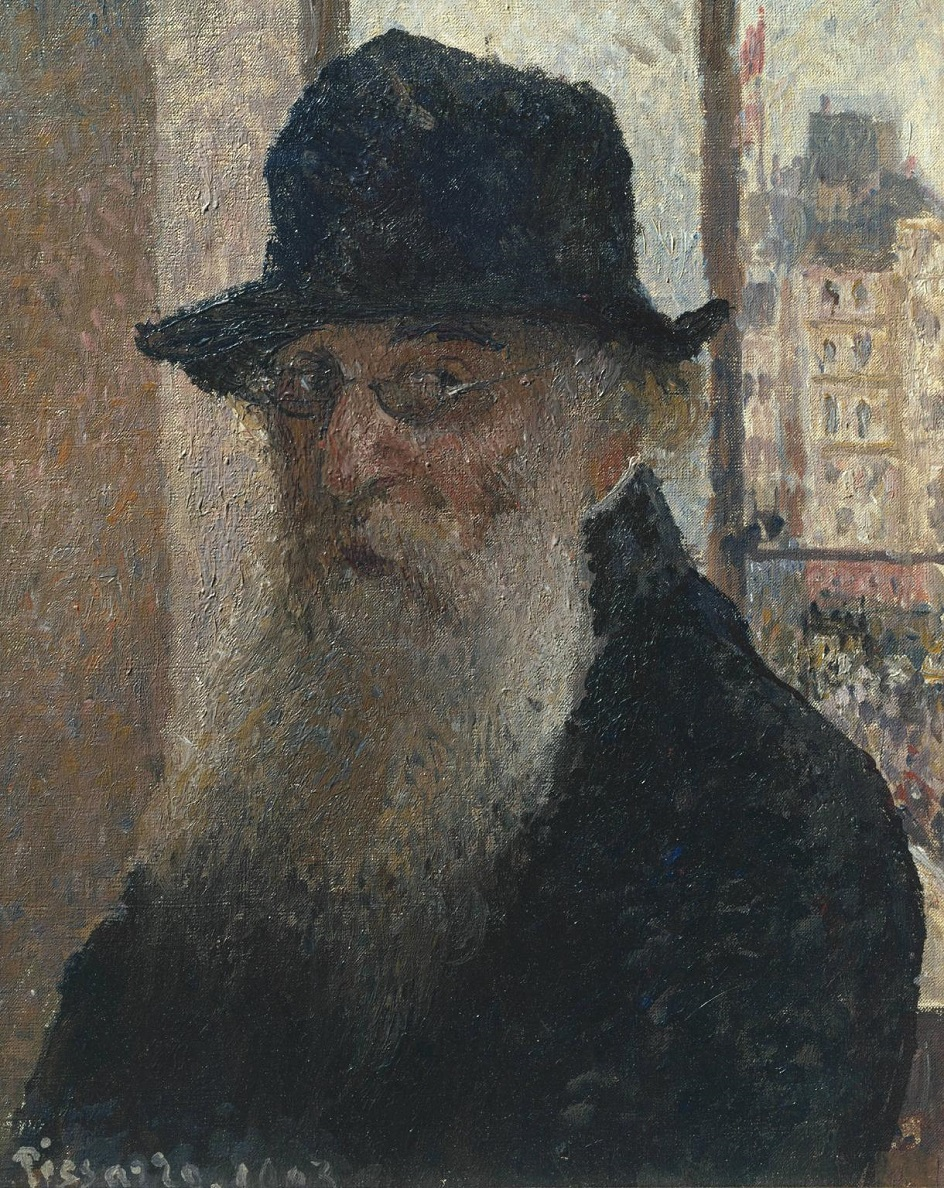Камиль Писсарро. «Автопортрет», 1903