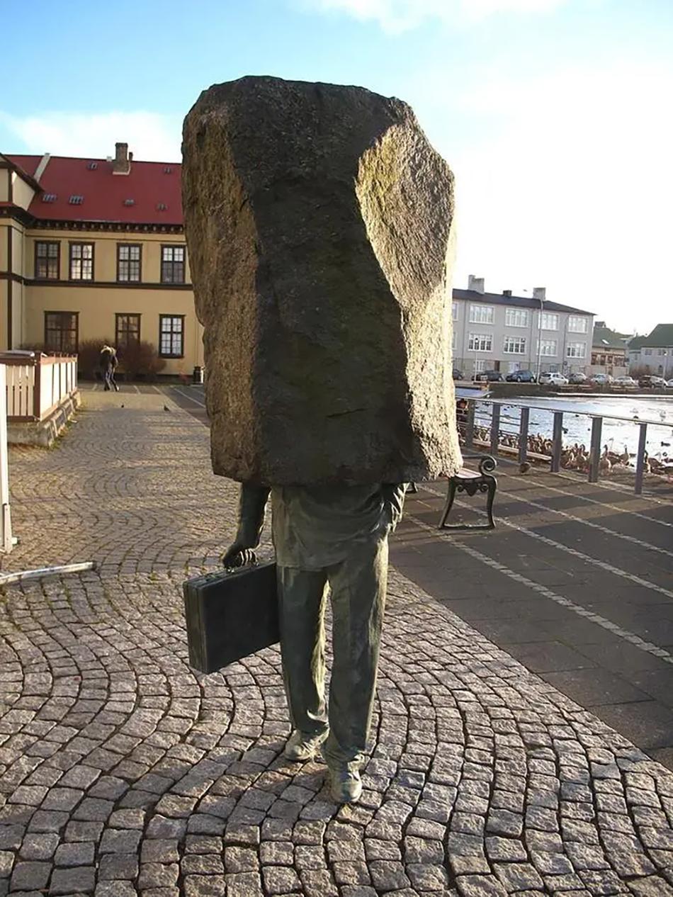 Неизвестный Чиновник, Магнус Томассон, Рейкьявик, Исландия