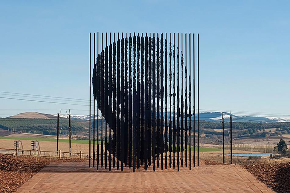 Памятник Нельсону Манделе, Хоуик, ЮАР