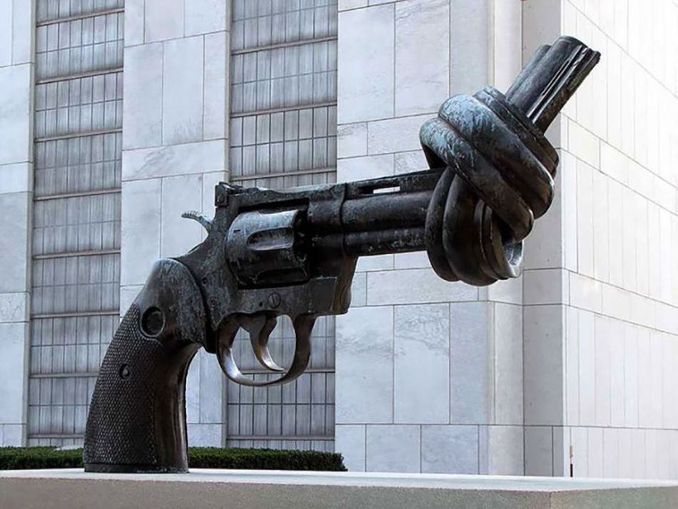 Мы против насилия, Карл Фредрик Рейтерсворд, Нью-Йорк, США
