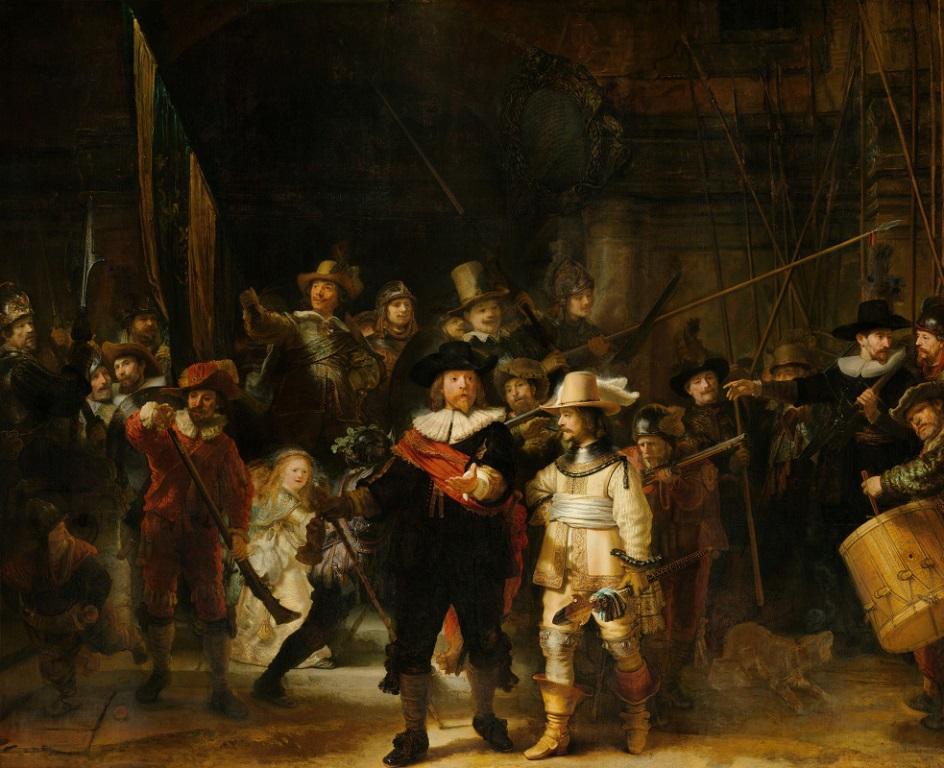 Ночной дозор. Рембрандт ван Рейн